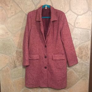 Old Navy Tweed long coat. Size XXL